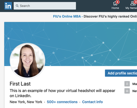 How to take a professional headshot for LinkedIn
